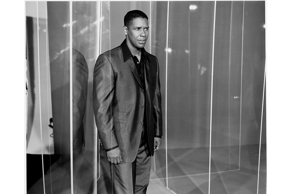 Denzel Washington Iconic Photography by Michel Haddi 0