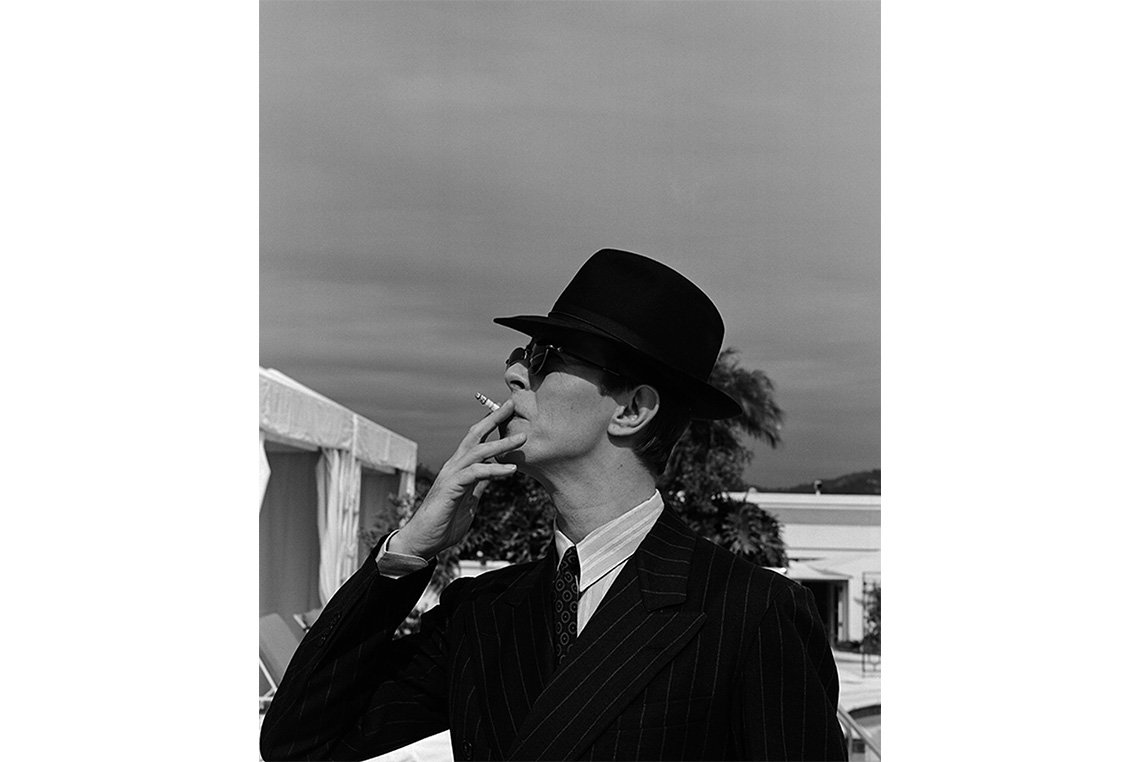 David Bowie Iconic Photography by Michel Haddi 2