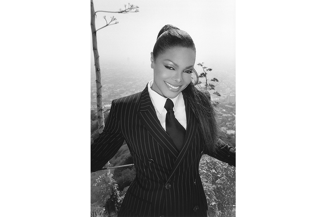 Janet Jackson Iconic Photography by Michel Haddi 9