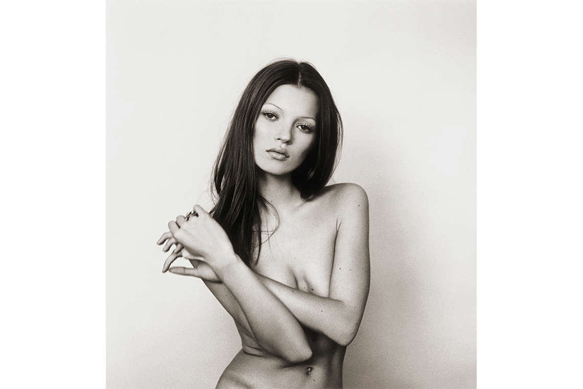 Kate Moss Iconic Photography by Michel Haddi 3